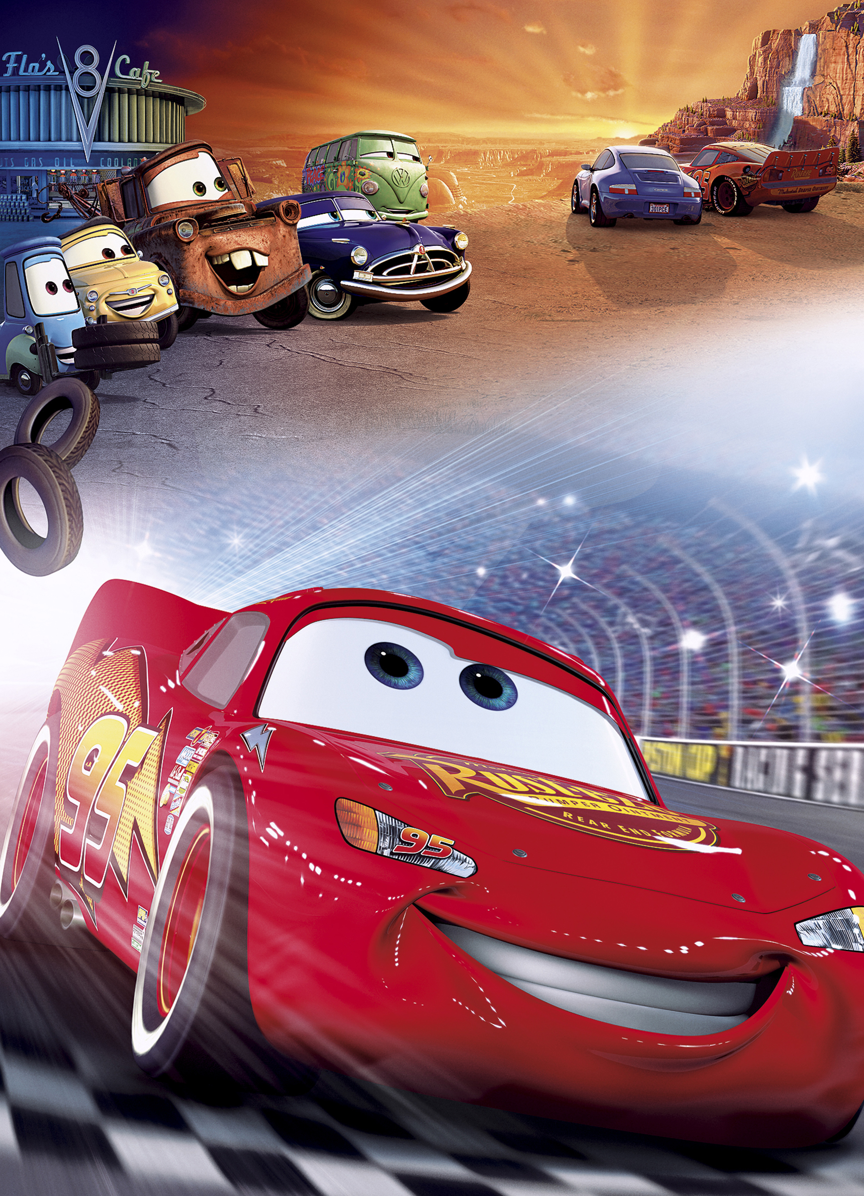 Cars (Coches) (Cars) (2006)
