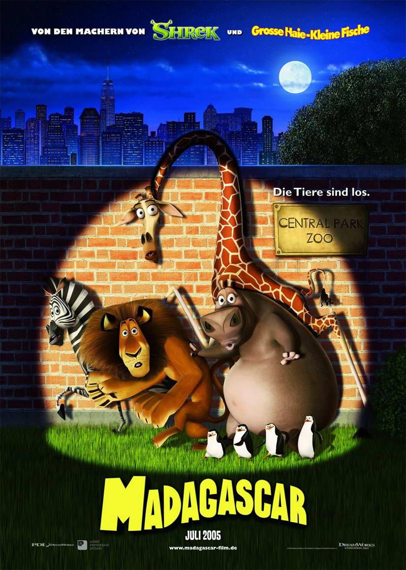 Madagascar 2005 Movie