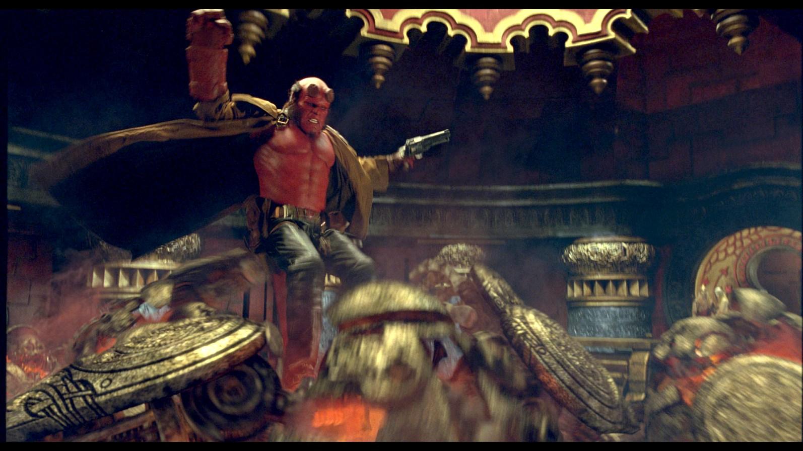 Hellboy II The Golden Army Hellboy 2 2008  Rotten