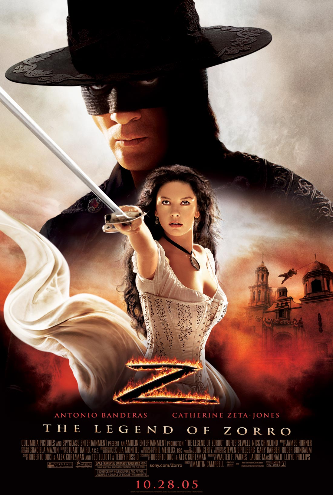 La leyenda del zorro (The legend of Zorro) (2005)