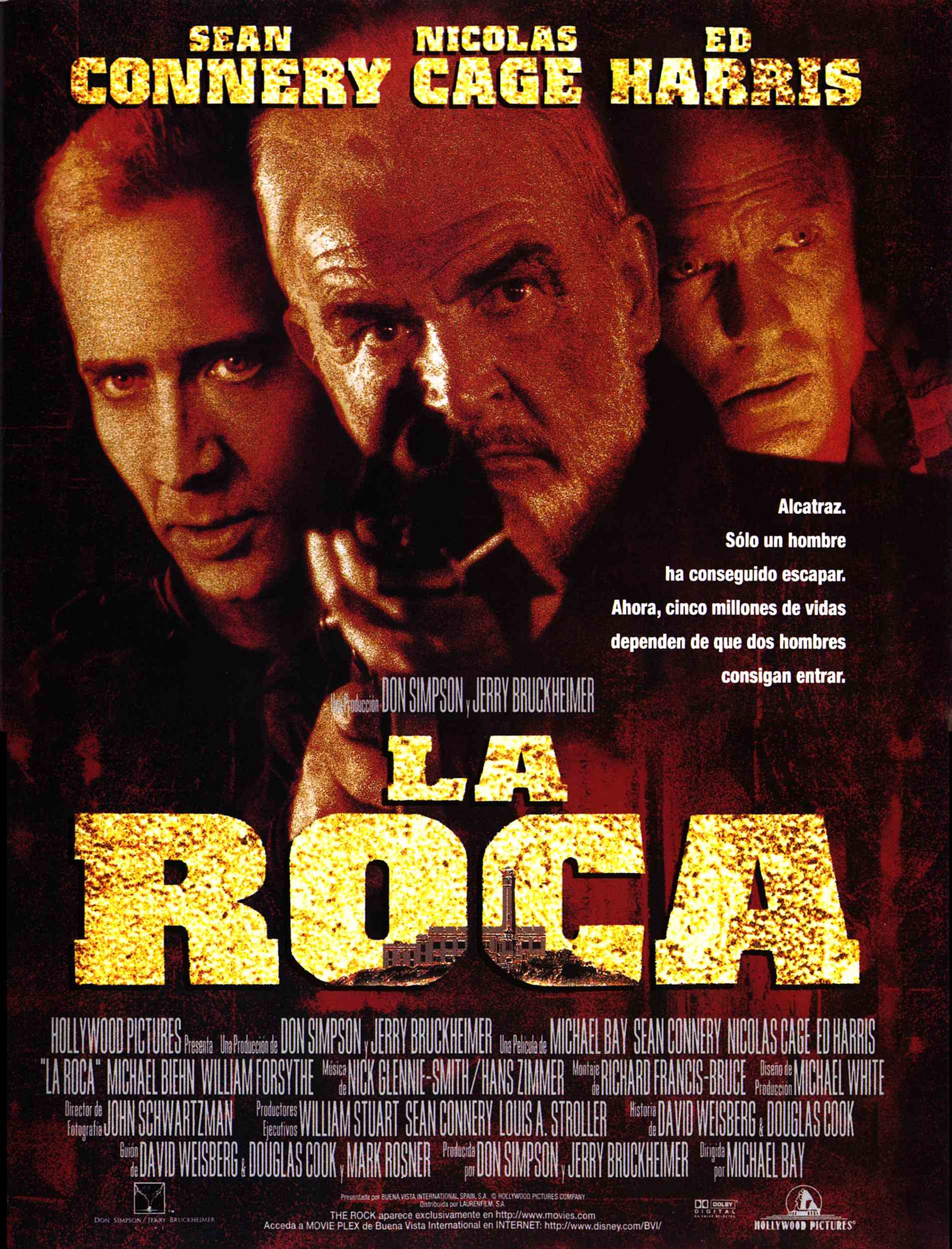 la roca the rock 1996