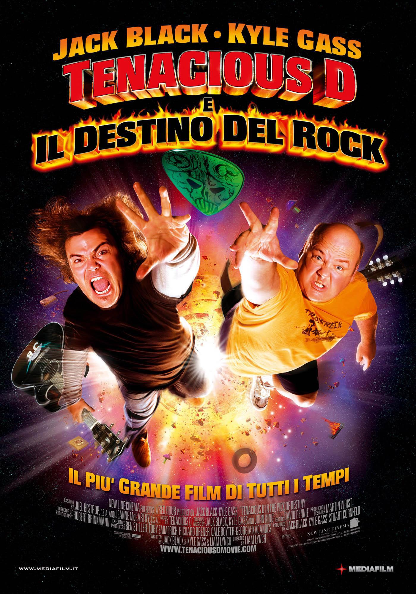 Tenacious D: dando la nota (Tenacious D: The Pick of ... Tenacious D Pick Of Destiny Poster