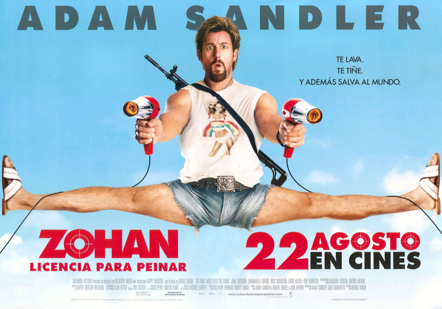 You Don't Mess With The Zohan Quotes. QuotesGram