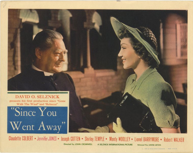 an overview of the film since you went away Since you went away is a movie starring claudette colbert, jennifer jones, and joseph cotten with her husband away to fight in world war ii, a housewife struggles to care for their two daughters - and a pair of lodgers who have.