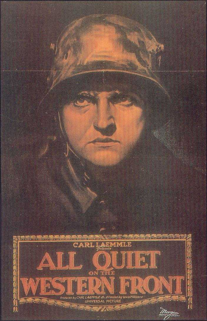 all quiet on the western front essay about theme Erich maria remarque's 'all quiet on the western front' sold millions of copies  worldwide it portrays german soldiers' experiences during wwi, but.