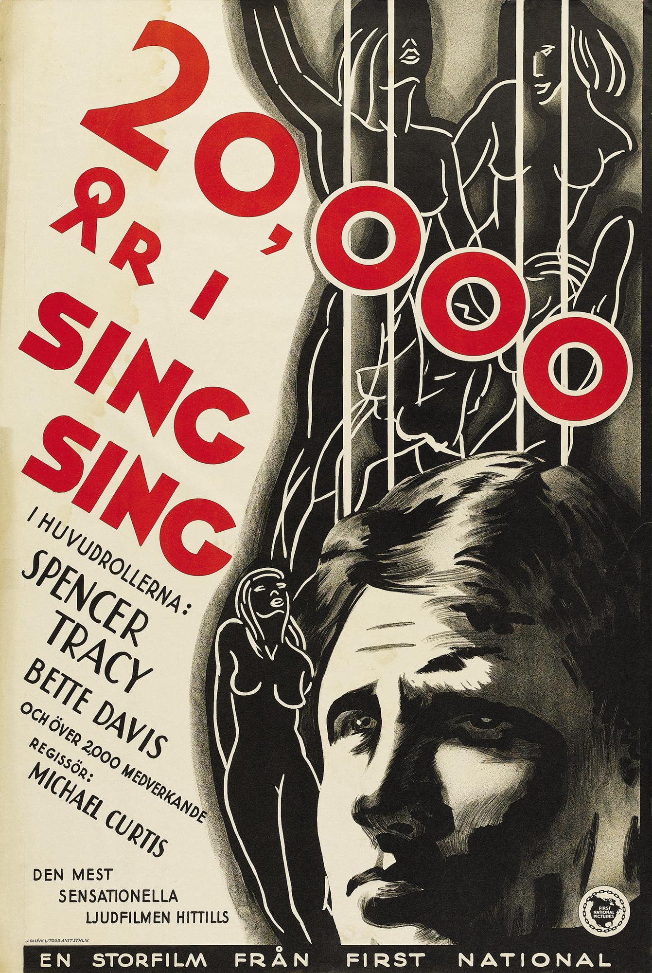 20 000 A 241 Os En Sing Sing 20 000 Years In Sing Sing 1933